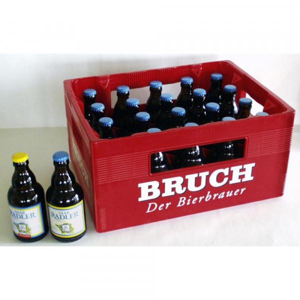 Biermischgetränk, Saar Radler 2,5% (20 x 0.33 Liter)