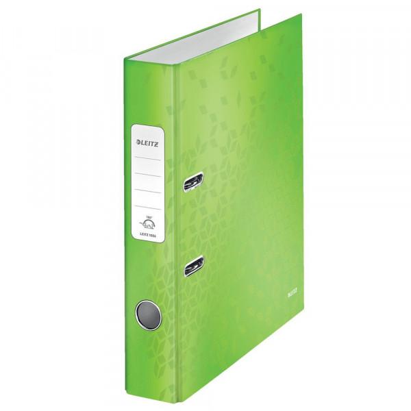 Ordner, grün, Kunststoff, A4, 5cm