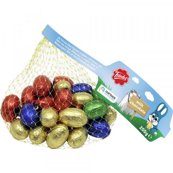 Schokoladeneier, Vollmilch