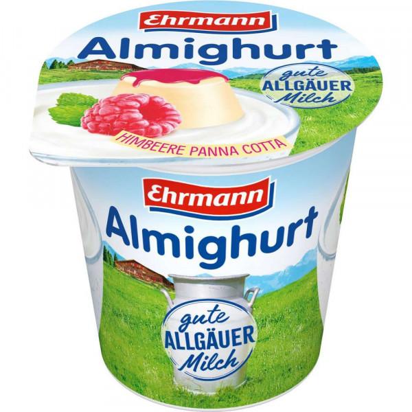 Joghurt, Himbeere Panna Cotta