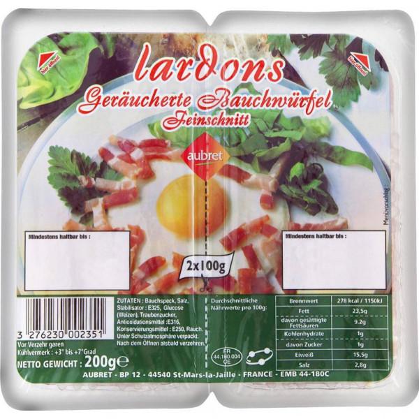 Lardons Bauchwürfel