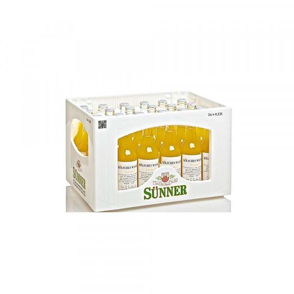 Kölsches Wasser Orange Orangen Limonade (24 x 0.33 Liter)