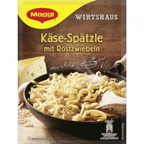 Wirtshaus Käse Spätzle mit Röstzwiebel