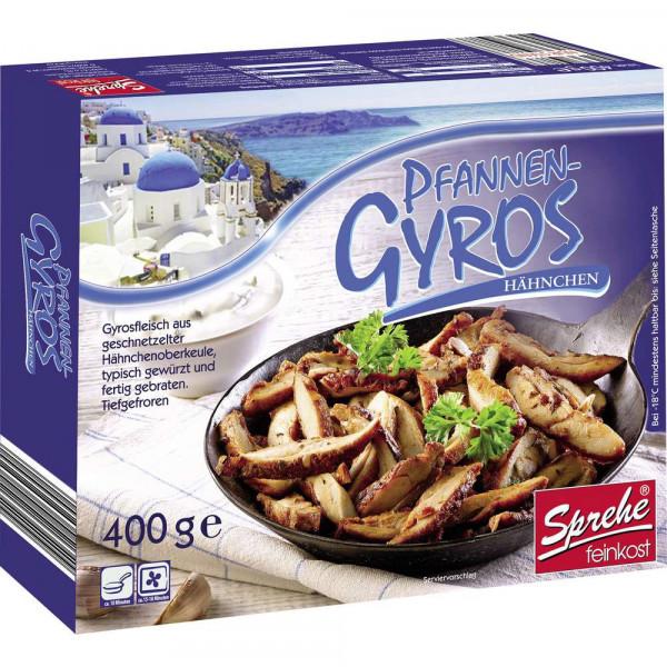Pfannen-Gyros, Hähnchen, tiefgekühlt