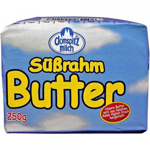 Deutsche Süßrahm- Markenbutter