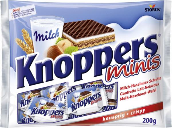 Schokolade Milch-Haselnuss-Schnitte, Minis