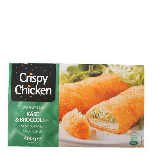 Crispy Chicken Käse & Schinken, tiefgekühlt
