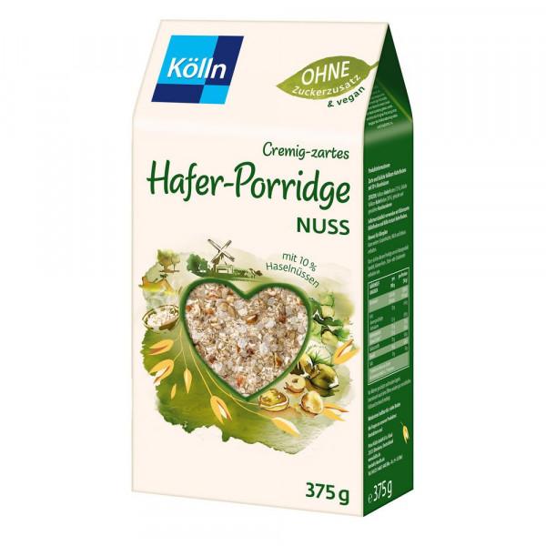 Hafer-Porridge, Nuss