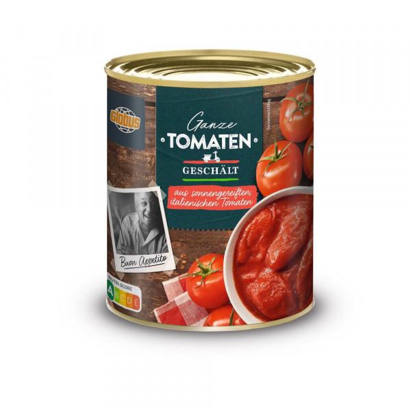 Geschälte Tomaten, ganz, in Tomatensaft