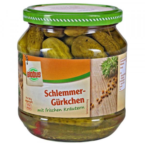 Schlemmer-Gürkchen, Kräuter