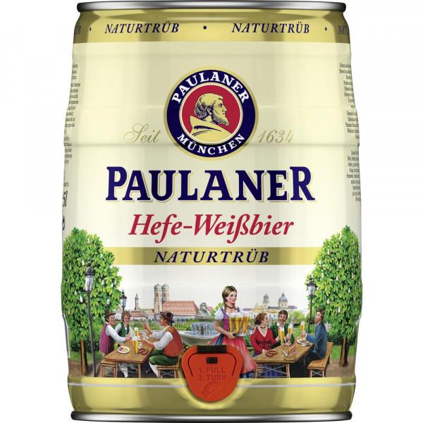 Hefe-Weißbier Partyfass, naturtrüb 5,5%