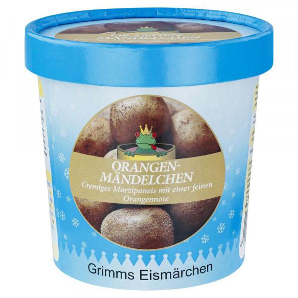 """Marzipaneiscreme mit Orangennote """"Orangenmändelchen"""""""