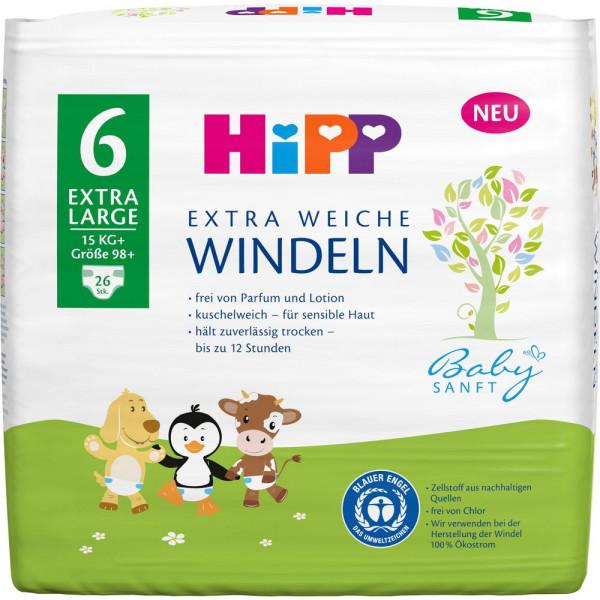 Babysanft Windeln Gr. 6 XL, 15+kg