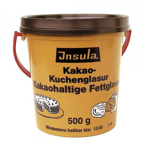Kakao-Kuchenglasur
