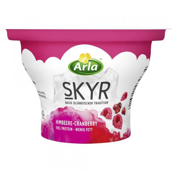 Skyr Fruchtjoghurt, Himbeere/Cranberry