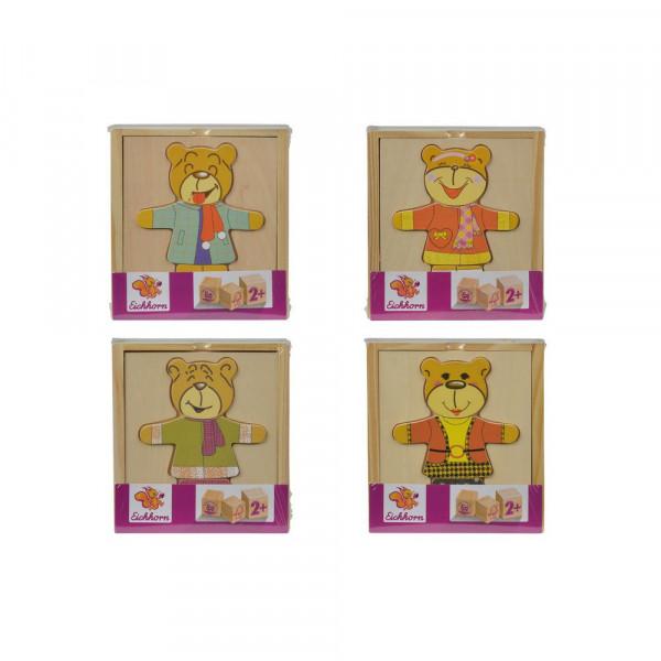 Eichhorn Bären-Puzzle