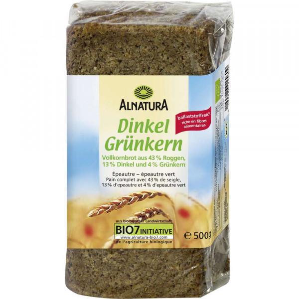 """Bio Dinkelbrot """"Grünkern"""""""