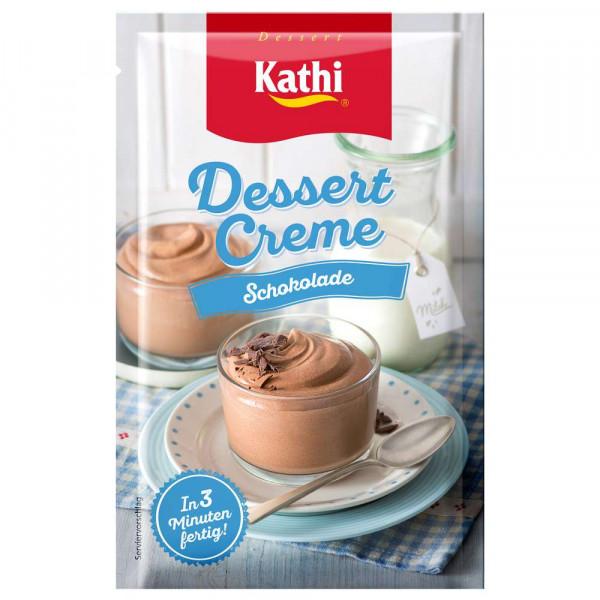 Dessertcreme, Schokolade