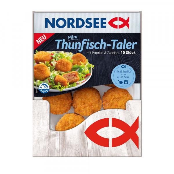Thunfisch-Taler, Paprika & Zwiebel