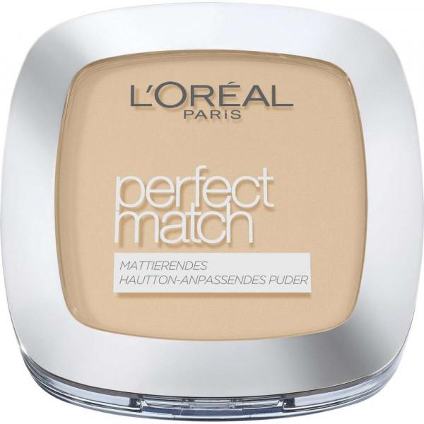 Puder Perfect Match, Golden sand W5
