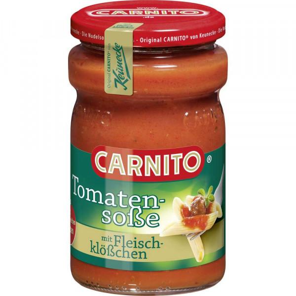 """Pastasoße, """"Tomatensoße mit Fleischklößchen"""""""