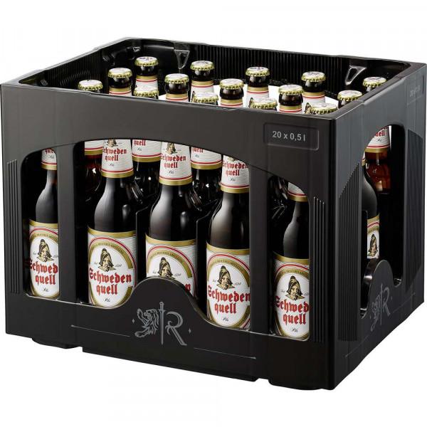 Schwedenquell Pilsener Bier 5% (20 x 0.5 Liter)