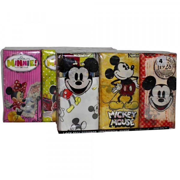 Taschentücher Mickey Mouse, 4-lagig
