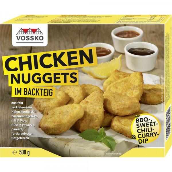 Chicken Nuggets im Backteig , tiefgekühlt
