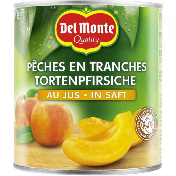 Pfirsiche Schnitten in Saft, natursüß