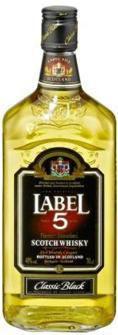Black Blendet Scotch Whisky 40%