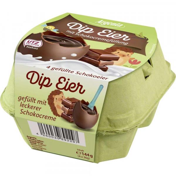 Schokoladeneier mit Schokocremefüllung