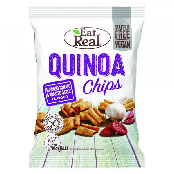Quinoa Chips, Tomate & Knoblauch