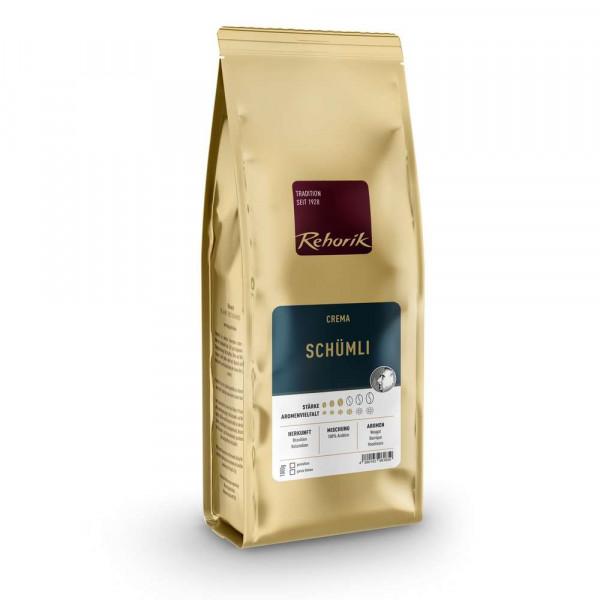 """Kaffee-Bohnen """"Crema Schümli"""""""