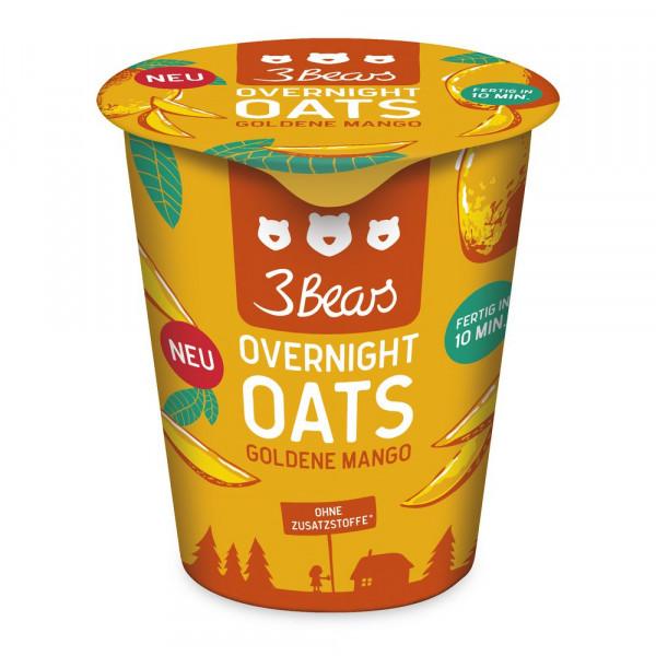 Overnight Oats, goldene Mango