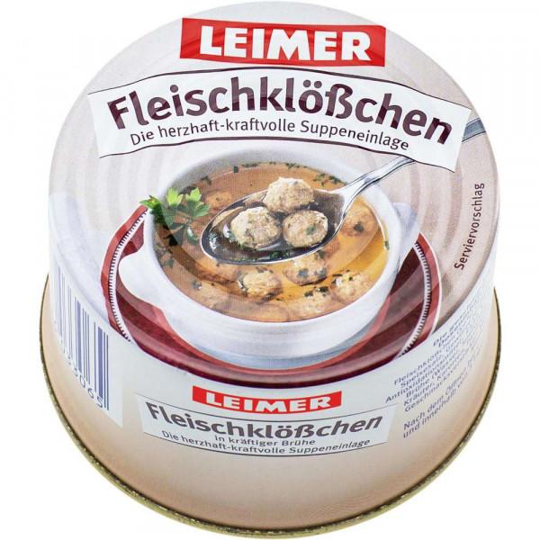 Suppeneinlage, Fleischklößchen