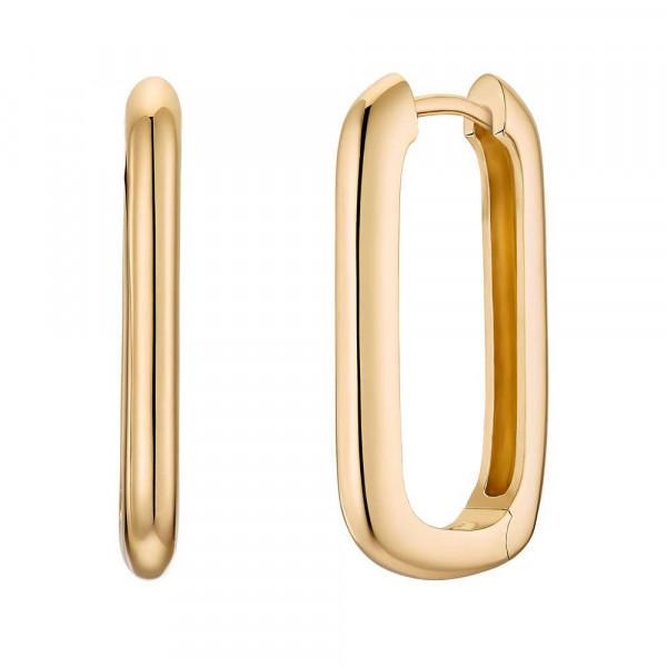 Ohrringe/ Creolen aus Silber 925, vergoldet (4056874027335)