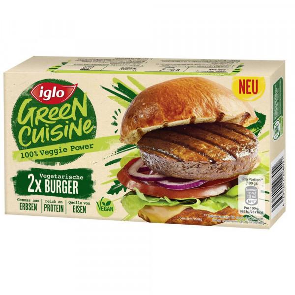 Vegetarische Burger, tiefgekühlt