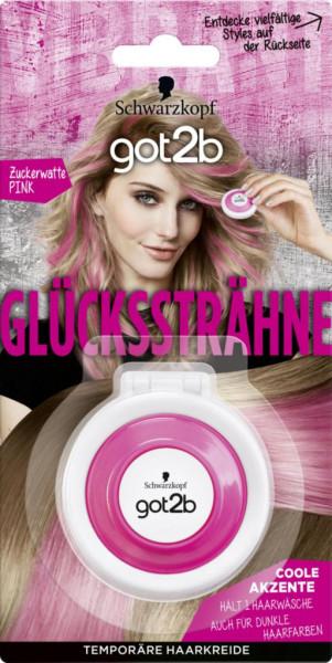 "Haarfarbe ""got2b Glückssträhne"", Zuckerwatte-Pink"