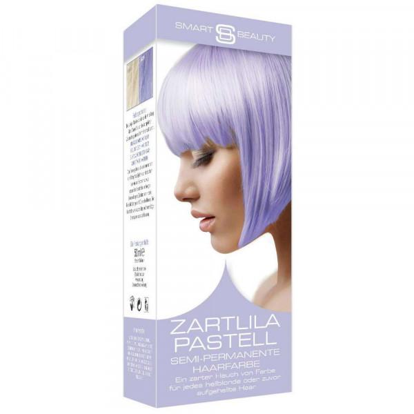 Haarfarbe, Zartlila