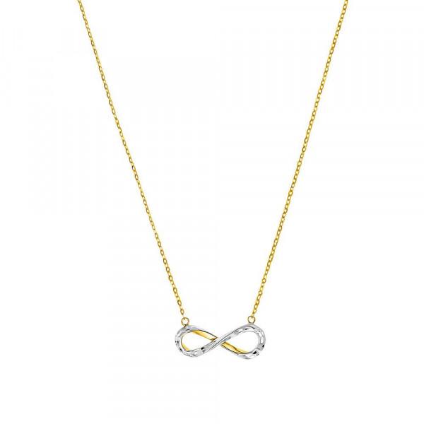 Damen Halskette mit Anhänger aus Gold 375 (4056866010710)