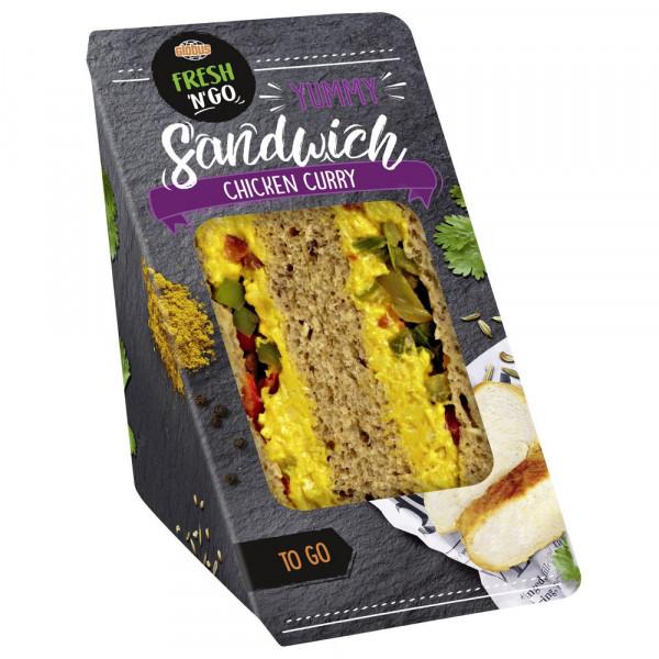 Sandwich Chicken Curry
