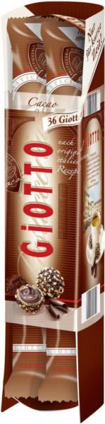 Kakao-Gebäck mit feiner Kakao-Creme