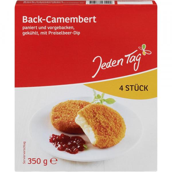 Back-Camembert mit Preiselbeer-Dip