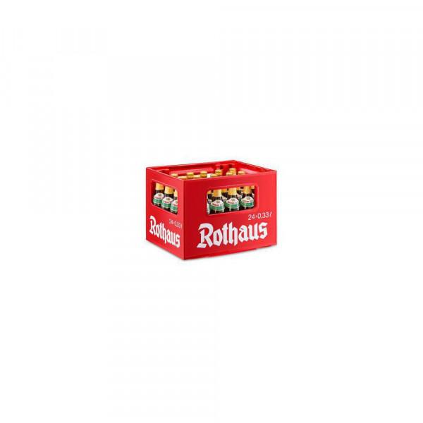 Tannenzäpfle Pilsener Bier 5,1%(4 Sixpacks in der Kiste zu je 6 x 0.33 Liter)