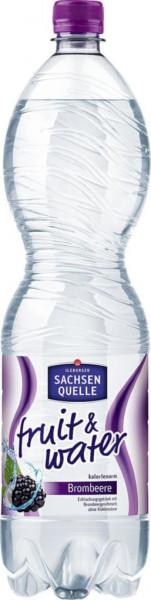 Fruit & Water Brombeere Mineralwasser, Naturelle (40 x 360 Liter)