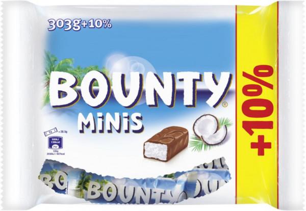 Kokos-Schokoladenriegel Minis + 10%