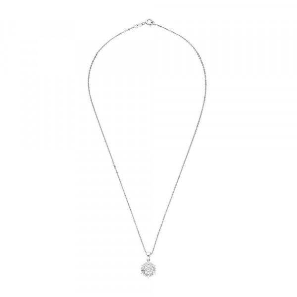 Damen Halskette mit Anhänger aus Silber 925 mit Zirkonia (4056866089143)