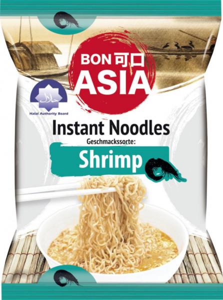 Instantnudeln, Shrimps