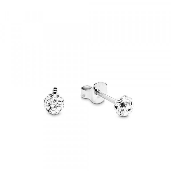 Ohrstecker aus Silber 925 mit Swarowski Kristallen (4020689062713)
