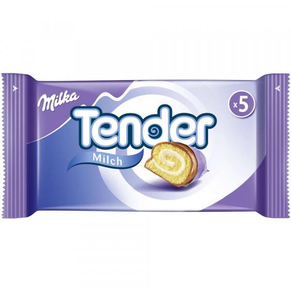 Tender, Milch (5 x 37 Gramm)
